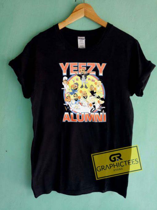Yeezy Alumni Graphic Tee Shirts
