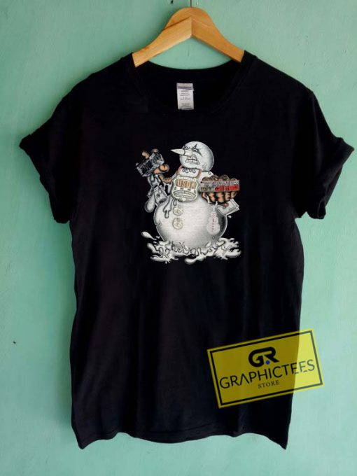 Young Jeezy Trap or Die Snowman Tee Shirts