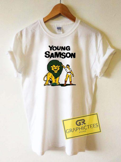 Young Samson Cartoon Tee Shirts