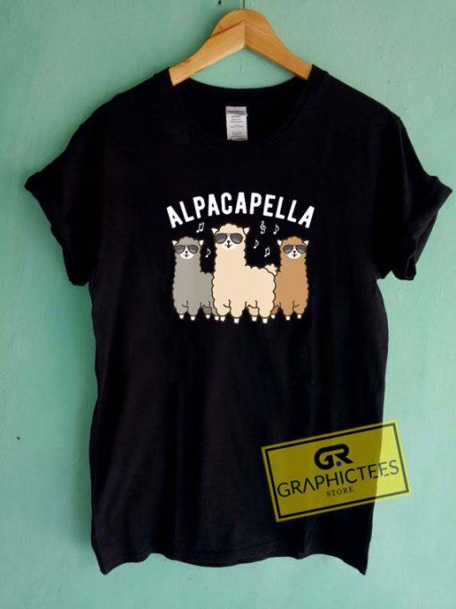 Alpacapella Tee Shirts