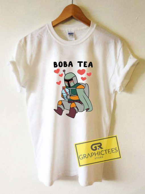 Boba Fett Drinking Boba Tea
