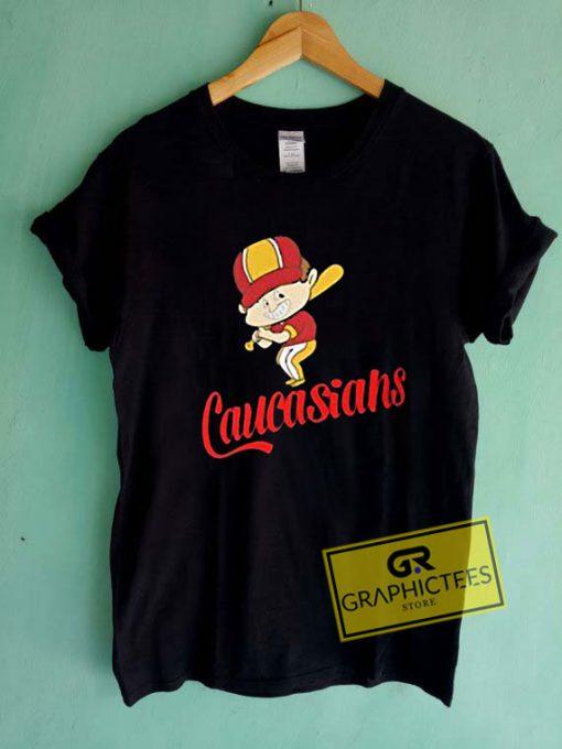 Caucasians BaseballTee Shirts