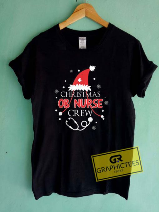 Christmas Ob Nurse Crew Tee Shirts