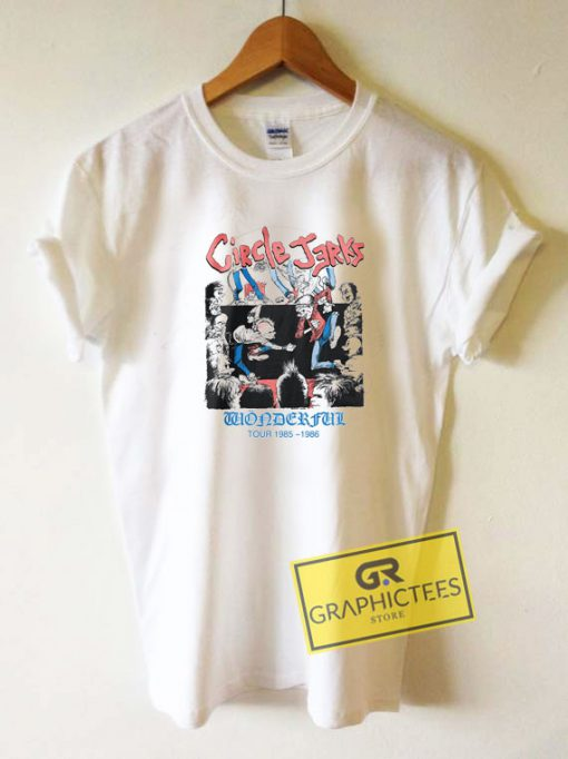 Circle Jerks Wonderful TourTee Shirts