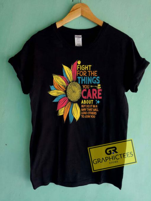 Colorful Sunflower Tee Shirts