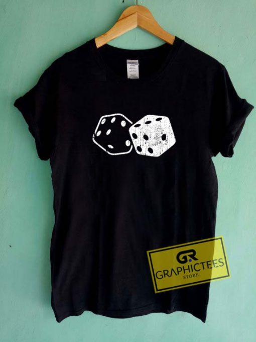 Dice Gambler Card PokerTee Shirts