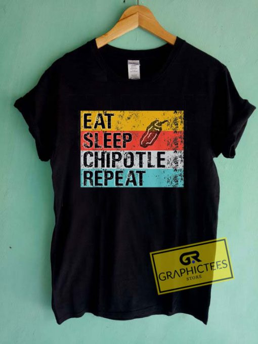 Eat Sleep Chipotle RepeatTee Shirts