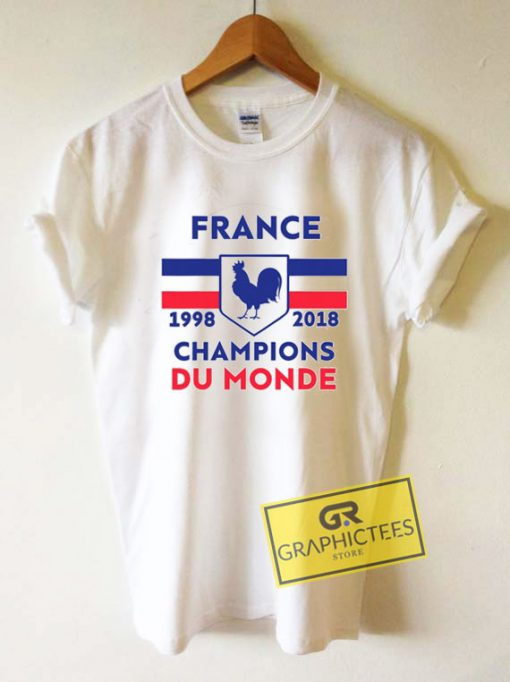 France Jersey Style Tee Shirts