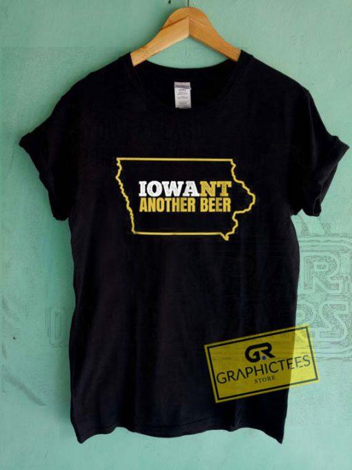 Funny Iowa Beer Tee Shirts