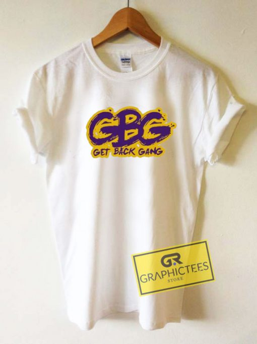 GBG Get Back Gang Logo Tee Shirts