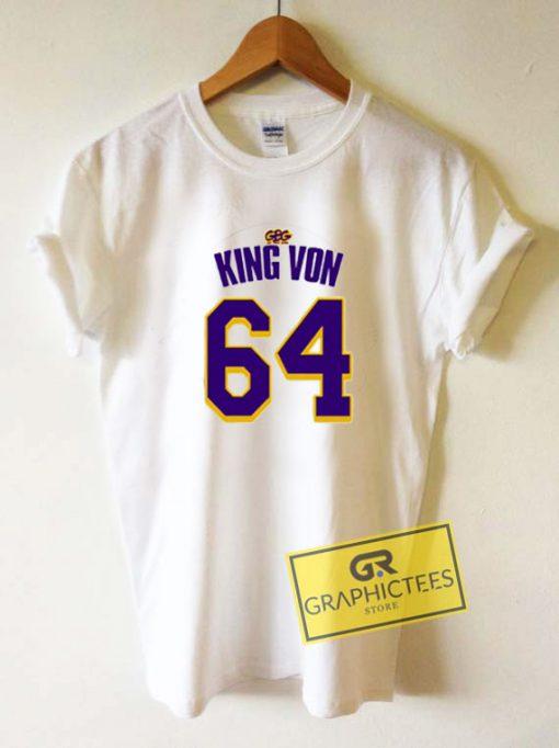 King Von 64 Tee Shirts