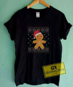 Gingerbread Man Santa HatTee Shirts