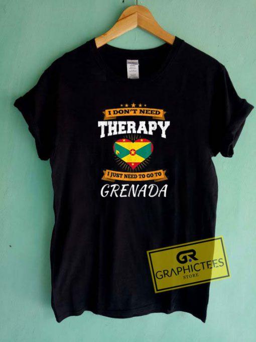 Grenada Flag Tee Shirts