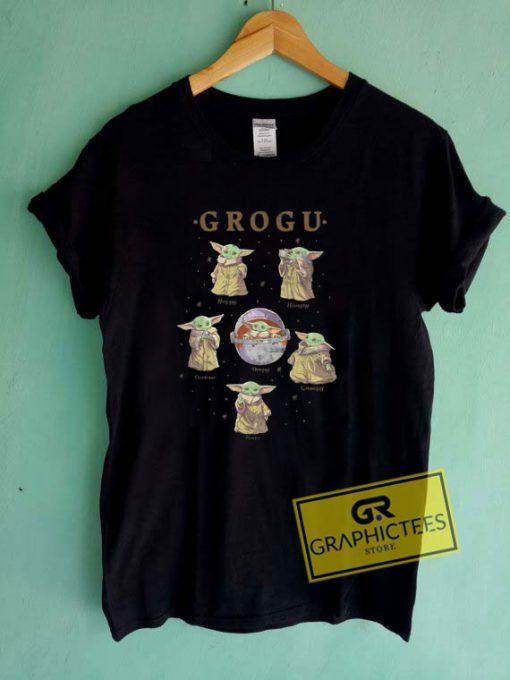 Grogu MoodsTee Shirts