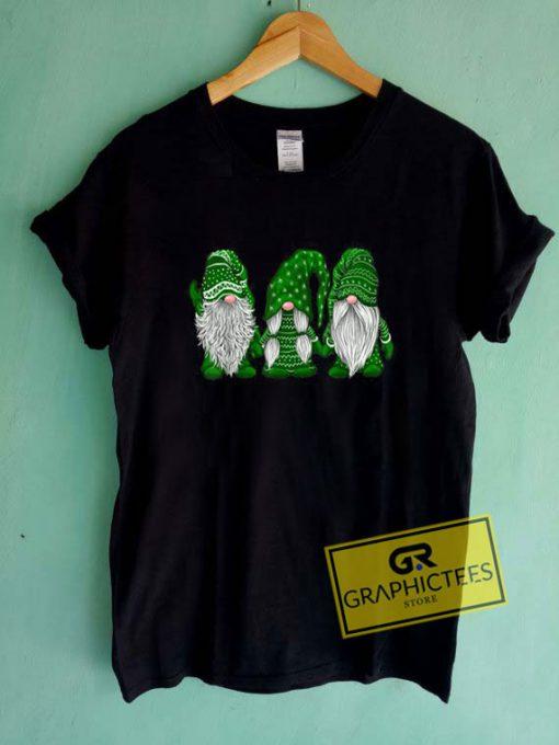 Hanging With Green Gnomies SantaTee Shirts
