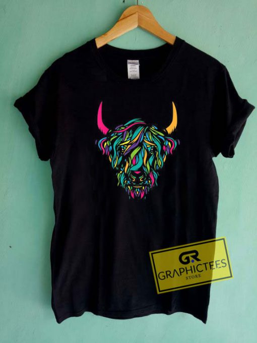 Highland Cow Animal Tee Shirts
