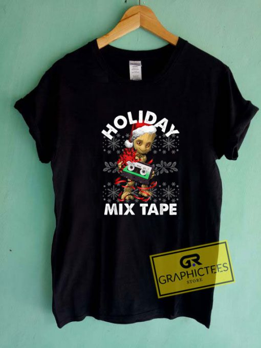 Holiday Mix Tape Tee Shirts