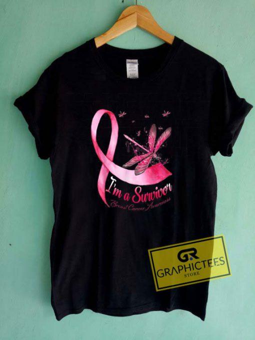 Im A Survivor DragonflyTee Shirts