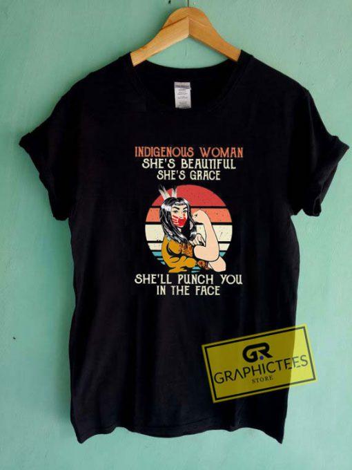 Indigenous Woman Tee Shirts