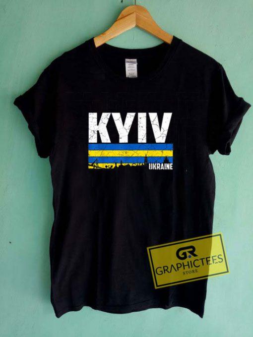 Kyiv SkylineTee Shirts