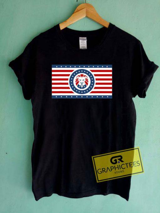 Maga Lion FlagTee Shirts