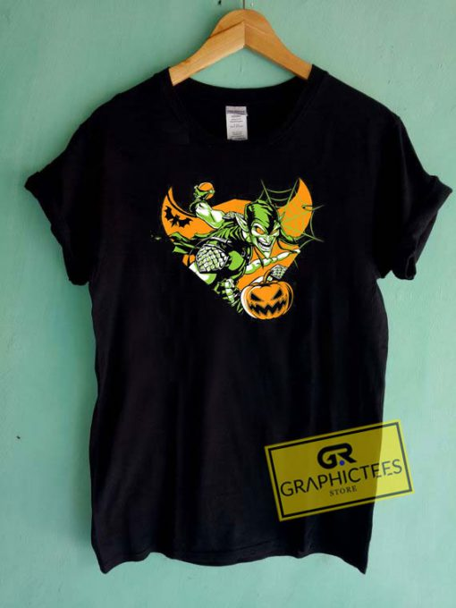 Marvel Goblin Pumpkin Tee Shirts