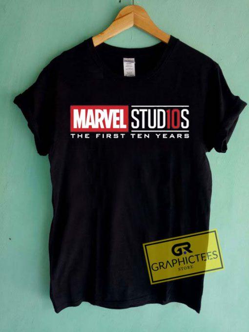 Marvel Studios Tee Shirts