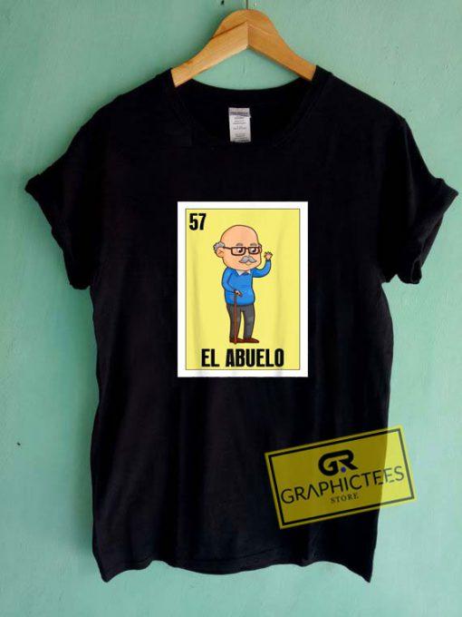 Mexican El Abuelo Tee Shirts