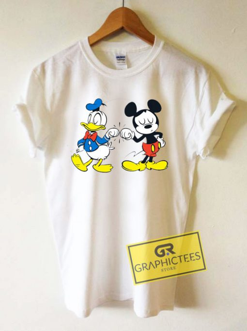 Mickey Mouse And Donald Tee Shirts
