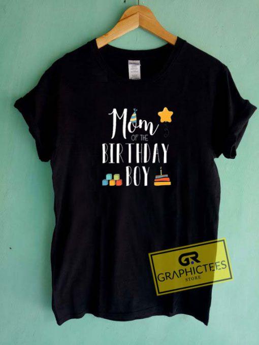 Mom Of The Birthday Boy Tee Shirts