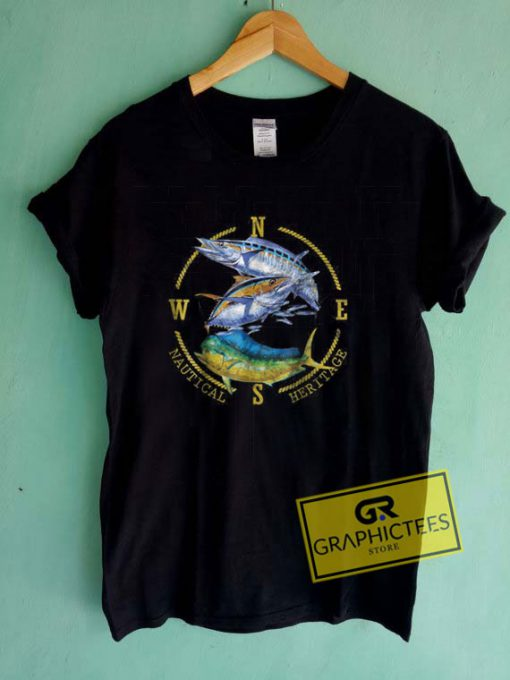 Nautical FishingTee Shirts
