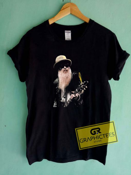 Official Billy F Gibbons Tee Shirts