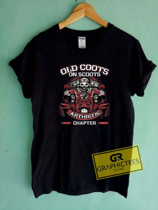 Old Coots On ScootsTee Shirts
