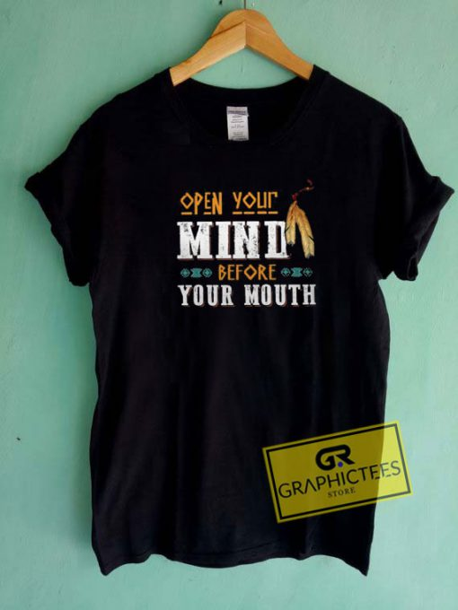 Open Your Mind  Tee Shirts