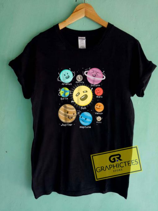 Outer Space Planet Tee Shirts