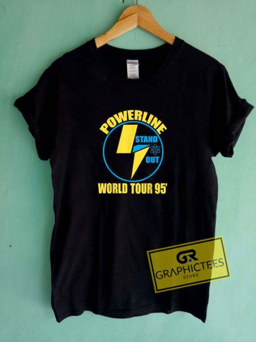 Powerline Shirts World TourTee Shirts
