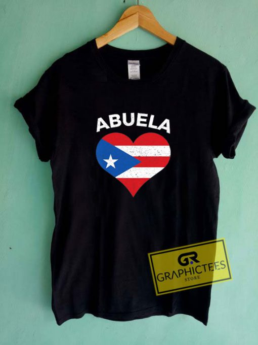 Puerto Rican Abuela FlagTee Shirts