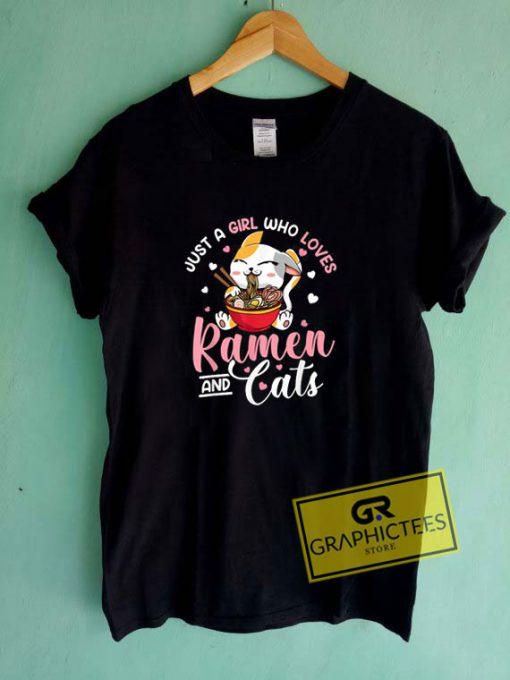 Ramen And CatsTee Shirts