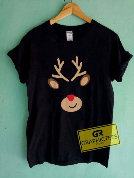 Reindeer Adults ChristmasTee Shirts
