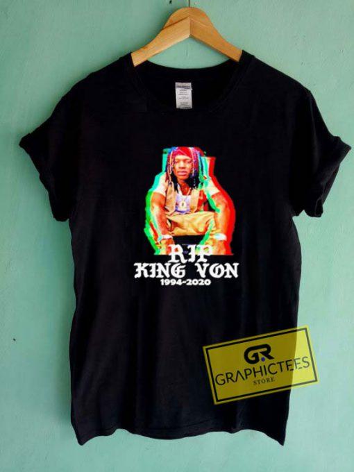 Rip King Von RetroTee Shirts
