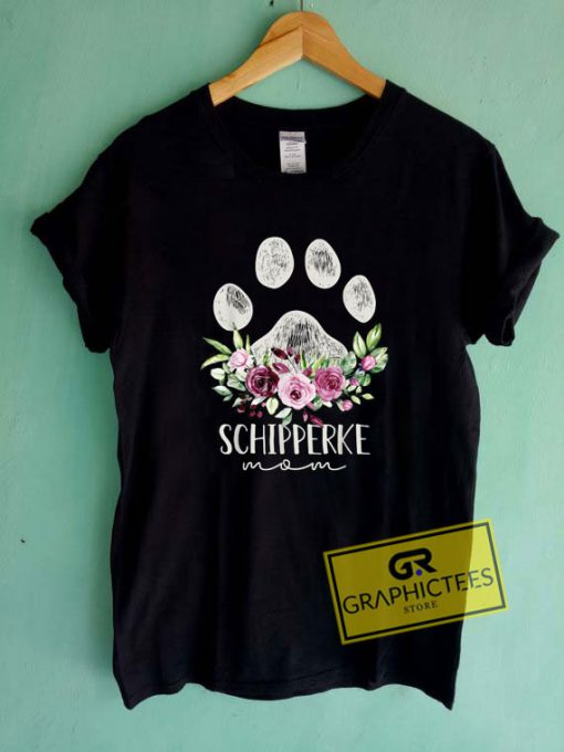 Schipperke Shirt Dog Mom Tee Shirts
