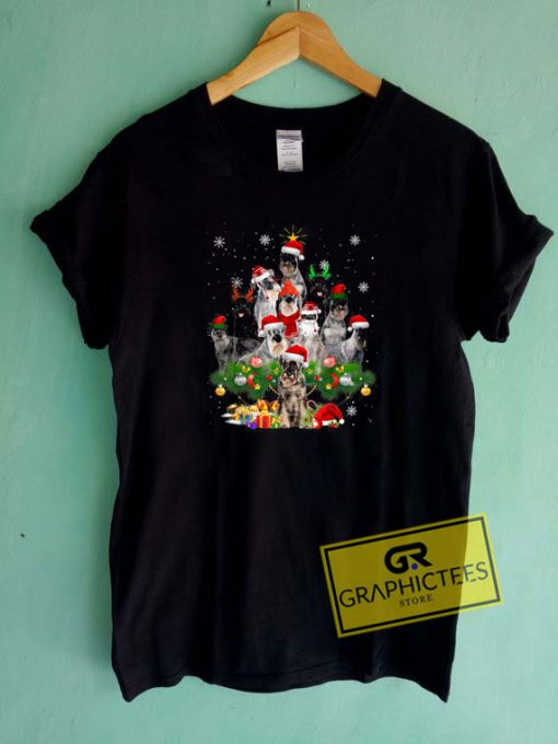 Schnauzer Christmas Tee Shirts