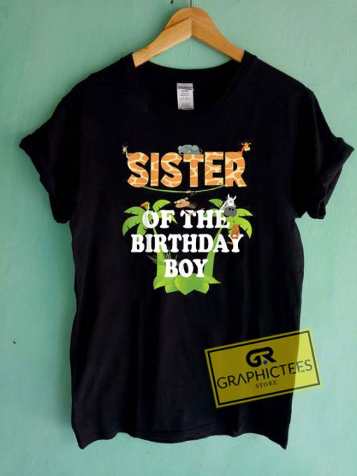Sister Of The Birthday Boy Tee Shirts