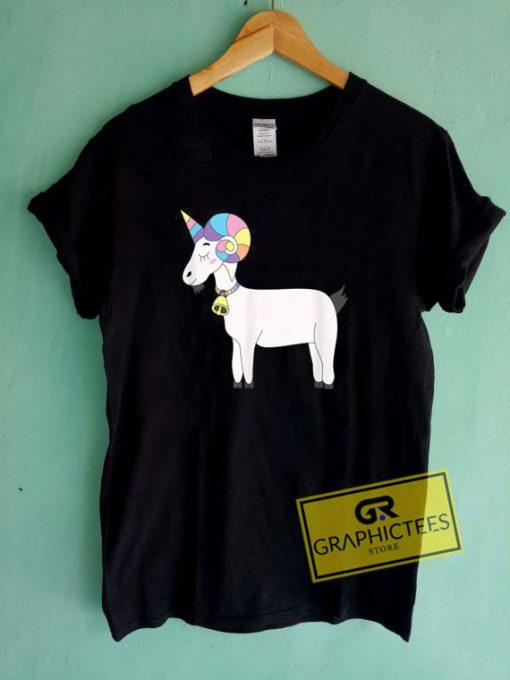 Unicorn Goat Tee Shirts