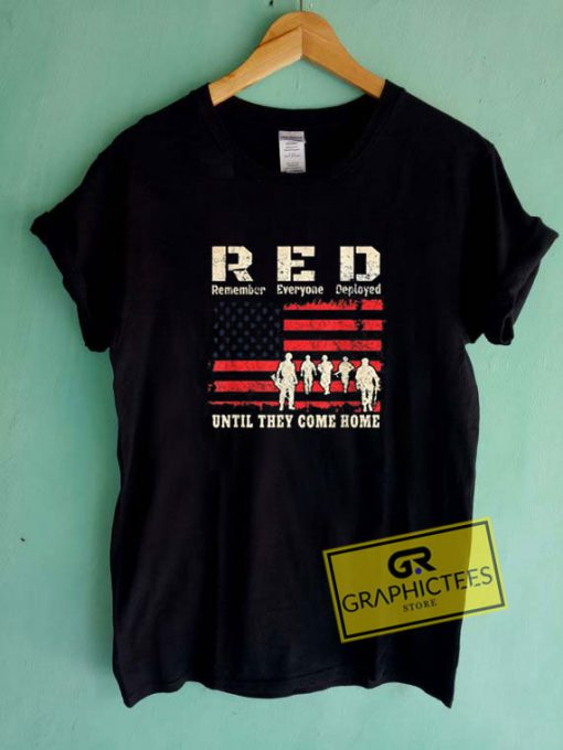 Until They Come RedTee Shirts