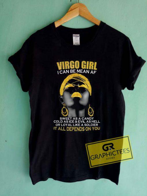 Virgo Girl Tee Shirts