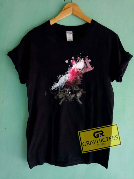Watercolor Galah Cockatoo Tee Shirts