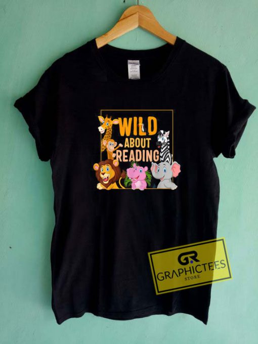 Wild About Reading Tee Shirts