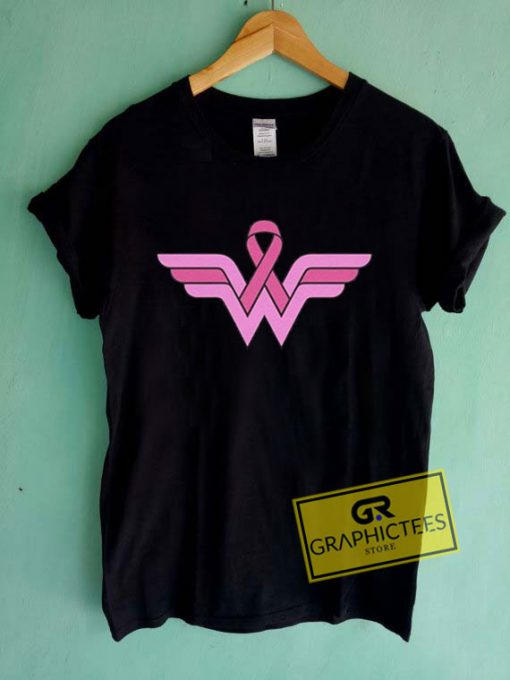 Wonder Woman Fight Cancer Tee Shirts