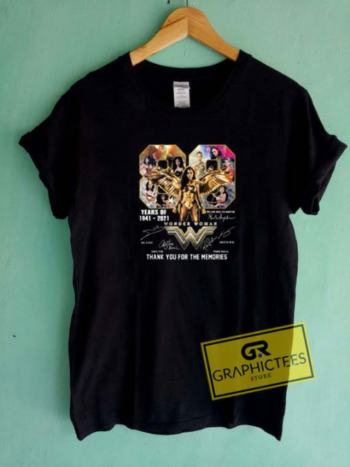 Wonder Woman Memories Tee Shirts